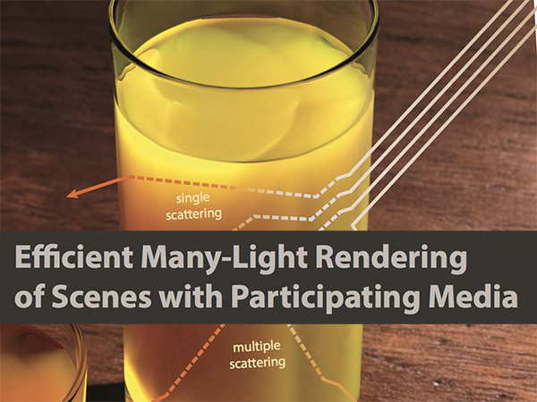Efficient Many-Light Rendering of Scenes with Participating Media